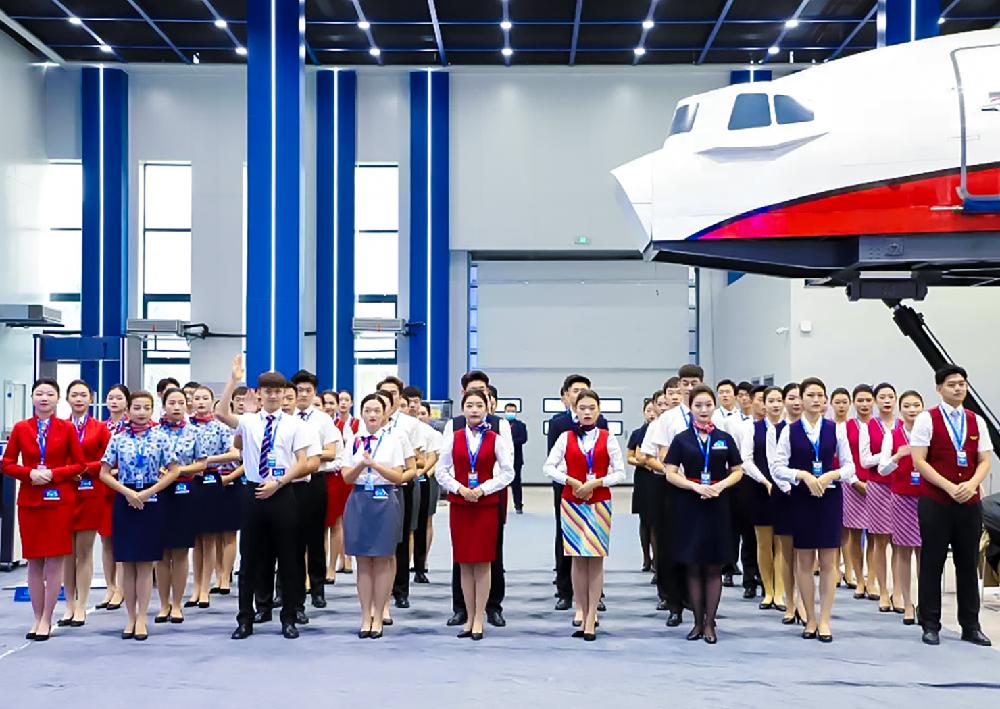喜讯!兰州外语职业学院空中乘务专业团队在2021年全国民航院校空中乘务职业技能大赛荣获三等奖
